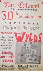 Click on poster to view early WYLDS photos